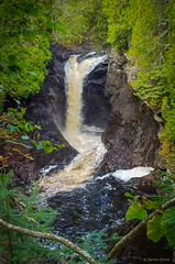 Lower Cascade Falls (WOODSHED Revisited) Tags: lake superior north shore shoreline minn minnesota mn great lakes scenic highway 61 us route cascade river state park grand marais waterfall falls cascading lower