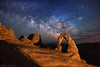 "No more night photography at Arches (IronRodArt - Royce Bair (""Star Shooter"")) Tags: archesnationalpark arches utah nationalparks nightscape nightscapes nightphotography lightpainting"