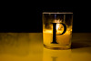 Pilbrow (StevePilbrow) Tags: candle p flames hot wax letter papa reflection dark background light glow glass nikon d7200 nikkor 18105mm 2016