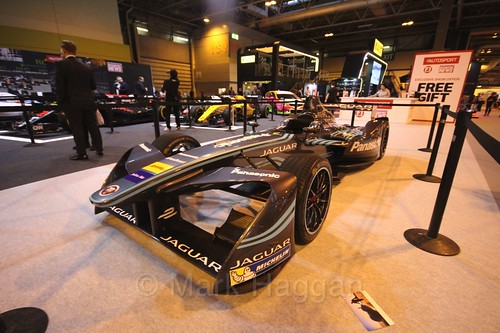 Formula E at the Autosport International Show 2017