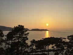 2016-08-15 21 07 06 (Pepe Fernández) Tags: paisaje puestadesol solpor atardecer sunset mar galicia bahíadebaiona nigrán