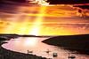 Trident (ryanhooper1) Tags: trident sun sunset sunbeam sunbeams light delightful river sea swan swansea water colour red yellow orange hdr