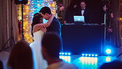 Mr and Mrs B (Lyn Rees) Tags: wedding fujifilmx marriage firstdance 56mm