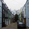 xmas-1082 (JimInEuropa) Tags: nottinghill portobelloroad house apartment courtyard car rich private gated community