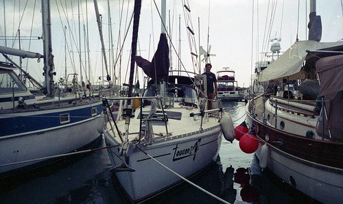 Toucan tied up in Peurta La Cruiz Marina
