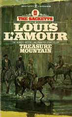 Novel-Treasure-Mountain-by-Louis-L'Amour (Count_Strad) Tags: novel book pages read reading pulp louislamour western oldwest gunfight outlaw indian cowboy