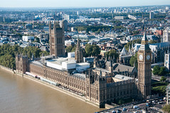 Westminster (Oliver J Davis Photography (ollygringo)) Tags: westminster parliament london government politics democracy uk unitedkingdom england europe capital city skyline cityscape architecture buildings urban river water thames nikon d90 travel londoneye view elevated refurbishment palace