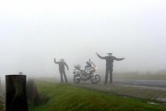 Mistified!! ;) (Mike-Lee) Tags: motorbike motorcycle bike cagivanavigator1000 mist fog rain chilly peakdistrict derbyshire sheffield jan2017 mike clone cloningabout bikerclones