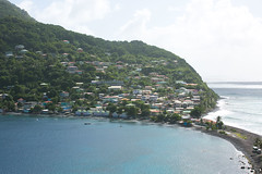 Dominica harbor