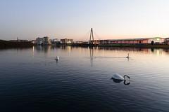 Bottoms Up for Blue Hour (Joe Hayhurst) Tags: lancashire landscape merseyside southport sunset lake marina