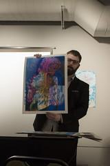 Kyle Baker (SXU-ART) Tags: kylebaker silkscreen poster sxu artgallery print art 2017