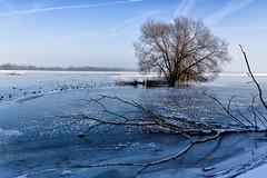 Winterimpressionen (drummerwinger) Tags: rot winter kalt cold ice snow schnee wasser water wolken balu gefroren frozen canon700d sigma moosburg