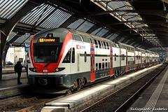 SBB - RE 511 038 (Szászgáspár Szabolcs) Tags: re 511 dosto swissrail zürich hb switzerland swiss zug trains tren vonat svájc mozdony elvetia