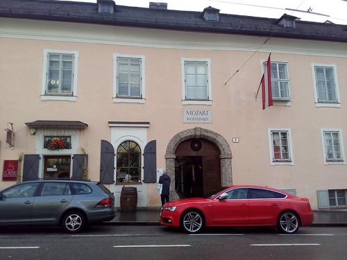 Mozart haus, Salzburgo