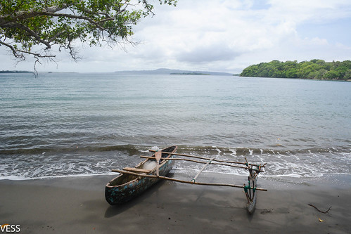 typical canoe used for fishing