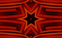 Golden Star Tapestry by Sherrie D. Larch (sherrielarch) Tags: persianrugs persiantapestries persianart ancientpersia tapestries rugs tapestrydesign rugdesign sherrielarch star orangeblack