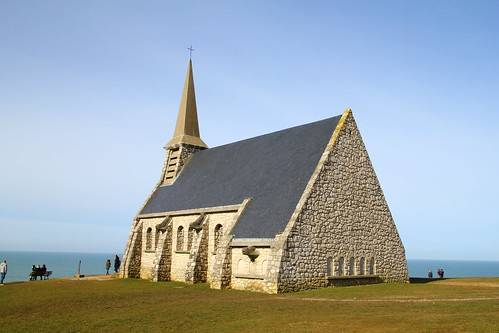 Church on cliff tops