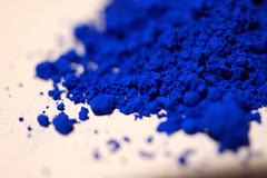 INTERNATIONAL KLEIN BLUE (m-louis) Tags: blue home explorer pigments yvesklein deskwork