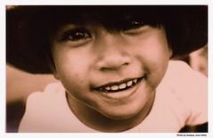 Her eyes (Araleya) Tags: portrait people art girl smile face sepia thailand kid interestingness eyes child artisitc thais chidren theface araleya preme interestingness466 i500