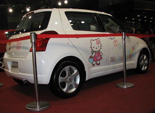 Hello Kitty Car ハローキティー・デコカー