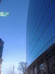 NJ Ave and E Street (SRMcNamara) Tags: city blue sky building architecture washingtondc dc districtofcolumbia