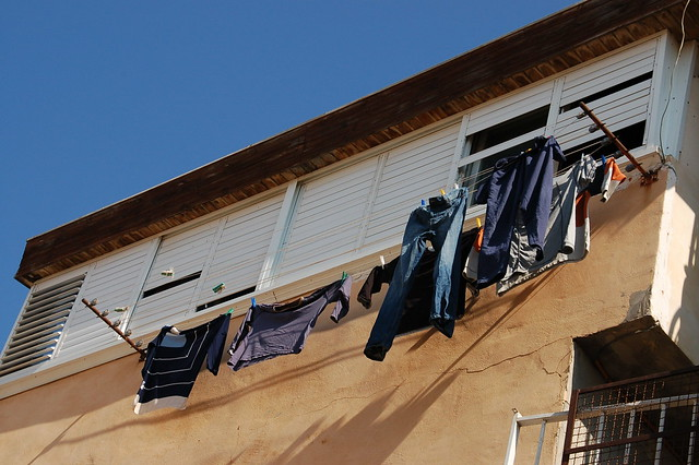 Clothes on Line