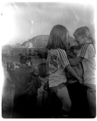 The Arena's Last Day (★keaggy.com) Tags: 120 film stlouis demolition arena missouri vintagecamera saintlouis ansco keaggy checkerdome