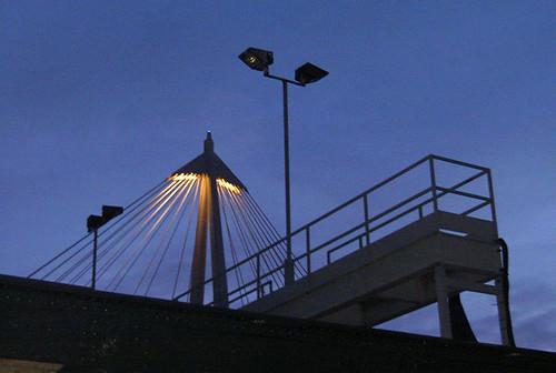 River Thames, Hungerford bridge