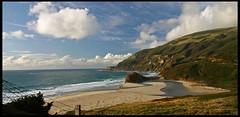 Beach along Highway 1 (rickz) Tags: california statepark color beach coast highway bigsur highway1 pacificocean carmel pointlobos ca1