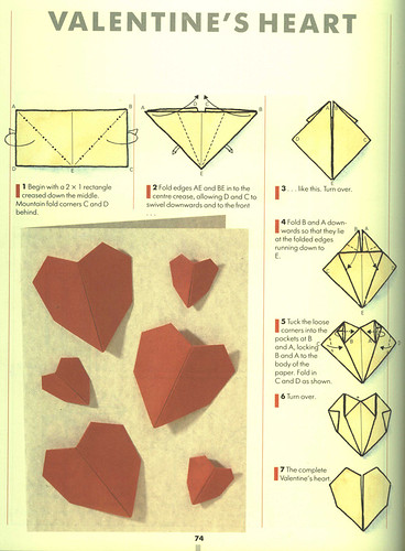 roadblocker · carpark · Instructions to make origami hearts