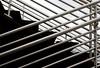 guidance (SmackNally) Tags: ny newyork abstract lines metal stairs hospital shiny university stonybrook steps longisland rails silvery 85points