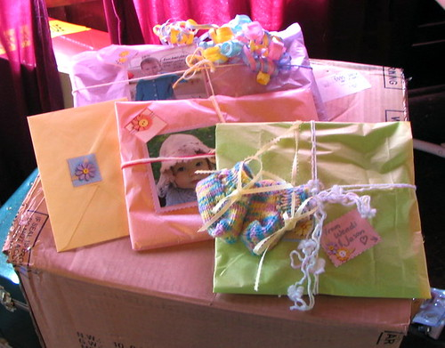 Presents for baby shower