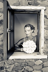 Bride Looking Out Open window (robertevans_com) Tags: wedding celebrity art photography groom bride engagement photographer candid photojournalism marriage passion nuptials cermony marrried phortography engagementwedding engagementewedding photographymentorcom