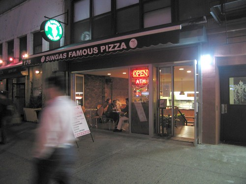 Singas Famous Pizza, East Village (by Slice)