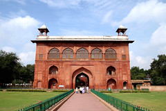 Lahore Gate (viiny) Tags: travel india tourism fort delhi inde redfort mughal lahoregate