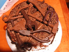 Tool Cake from Above