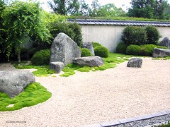 Zen Garden. Landscaping ideas for New Zealand. NZLANDSCAPES landscape design. (nzlandscapes) Tags: new flowers summer sky nature gardens landscape japanese design landscapes gardening landscaping chinese plan style zealand planning nz oriental plans ideas plantings