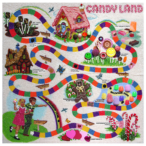 Candy Land by Peggy Dembicer.