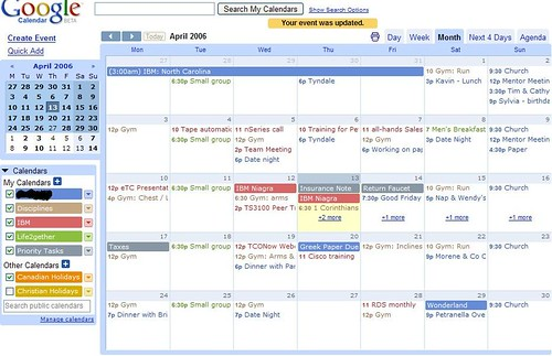 google calendar snapshot by Lon2000, on Flickr