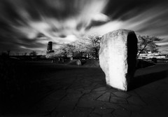 Japanese American Historical Plaza, 120 seconds (Zeb Andrews) Tags: longexposure bw film oregon 1025fav wow wonderful portland cool nice cityscape 500v20f great dramatic 100v10f pinhole 2550fav excellent infrared pacificnorthwest zeroimage zero69 top20longexposure bluemooncamera zebandrews zebandrewsphotography