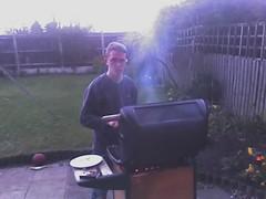 James at BBQ