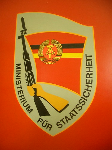 Wappen der DDR Stasi (Foto: flickr.com/elmada)