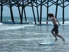 Myrtle Beach (dontcachfire) Tags: beach sc skimboard