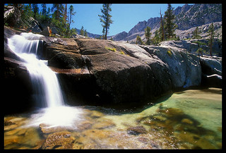 Cartridge Creek Cascade, Kings Canyon