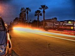 street of fire (Kris Kros) Tags: california ca longexposure usa public cali night photoshop photography lights evening la us losangeles high cool pix long exposure shot dynamic cs2 ps socal kris nightlife range let hdr jjj kkg interestingness2 2xp photomatix pscs2 kros kriskros kk2k kkgallery