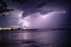 lightning over the capital city (muha...) Tags: male experiment lightning maldives fcl capitalcity