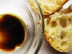 baguette, oil, vinegar - by roboppy