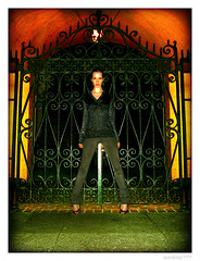"Meleksah""GoGo""Gate (merkley???) Tags: sanfrancisco portrait orange fashion yellow photoshop portraits nice saturated hipsters gates propaganda wroughtiron symmetry alcohol portraiture saturation glam symmetrical nightlife safe gogo retouched airbrush meleksah chicksset"