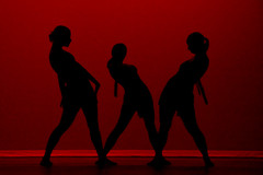 1146 - the three (ryran) Tags: red black dance winthrop silhouettes bronly