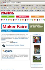 Maker Faire Flickr Badge